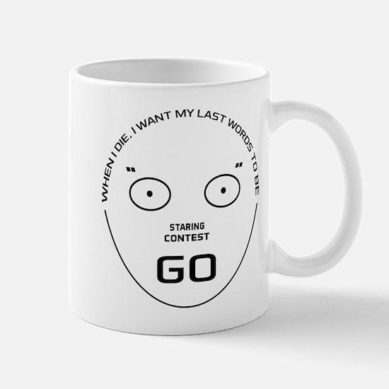 Staring Contest Mug