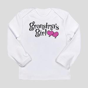 Grandma's Girl Long Sleeve Infant T-Shirt