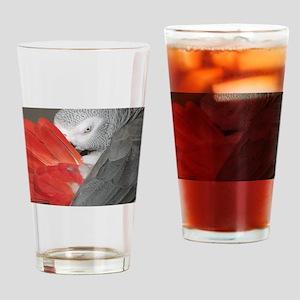 Elegant Grey Drinking Glass