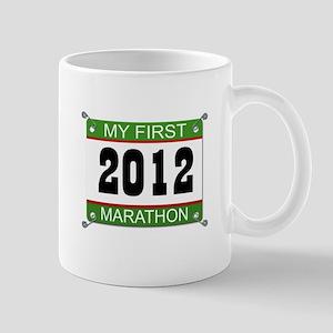 My First Marathon Bib - 2012 Mug