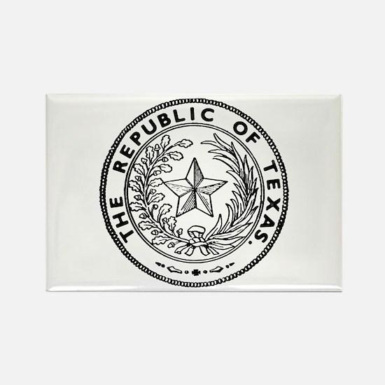 Secede Republic of Texas Rectangle Magnet