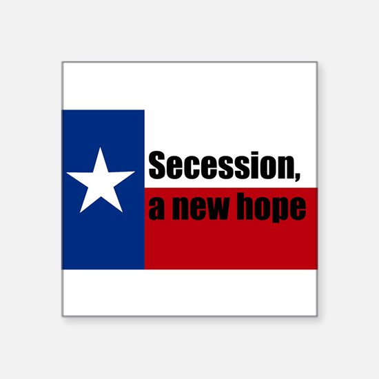"secession, a new hope Square Sticker 3"" x 3"""