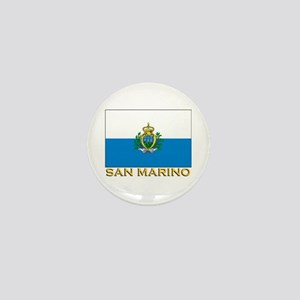 San Marino Flag Stuff Mini Button