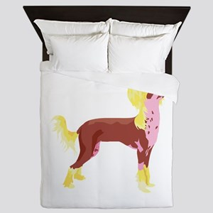 chinese-crested,png Queen Duvet
