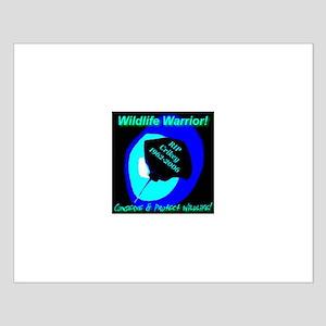 Wildlife Warrior Mystic Death Small Poster