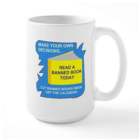 Read Banned Books Large Mug