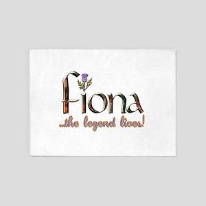 FionaLegend 5'x7'Area Rug