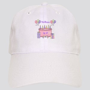 Personalized Birthday Girl Cap