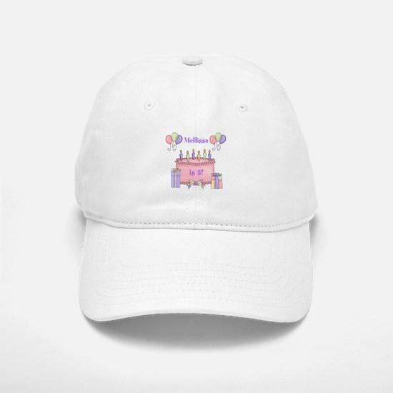 Personalized Birthday Girl Baseball Baseball Cap