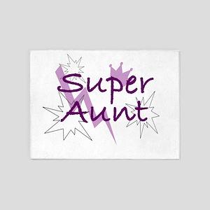 Super Aunt 5'x7'Area Rug