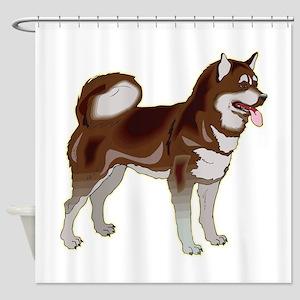 alask-mala1,png Shower Curtain