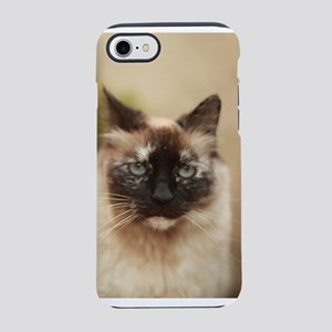 Colorpoint cat up close iPhone 7 Tough Case