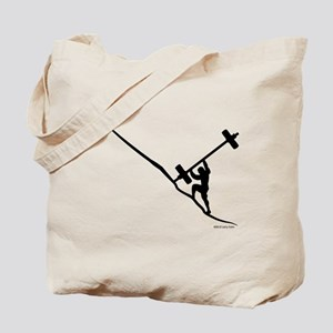 Sisyphus Olympic ( Oly ) Barbell Tenacity Tote Bag