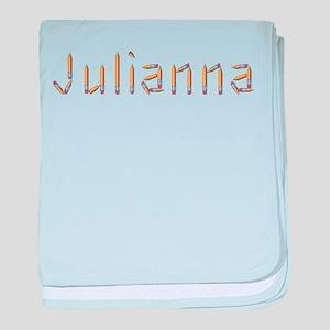 Julianna Pencils baby blanket
