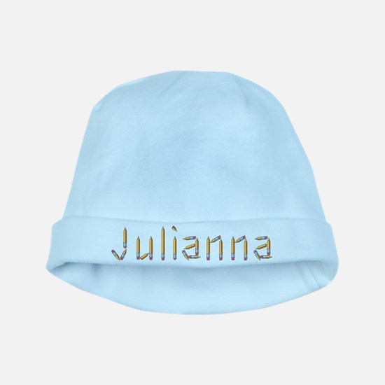 Julianna Pencils baby hat