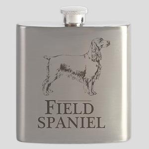 Field Spaniel Flask