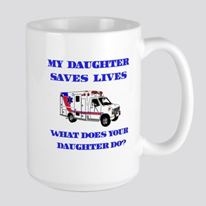 saveslivesambulancedaughter Mugs