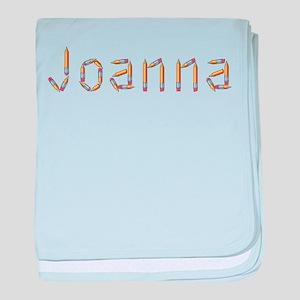Joanna Pencils baby blanket