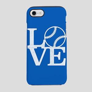 Love Baseball iPhone 7 Tough Case