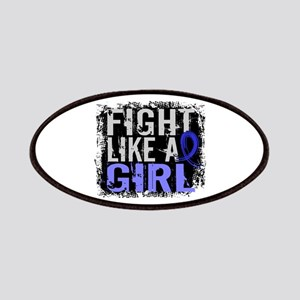 Licensed Fight Like a Girl 31.8 Colon Canc Patches
