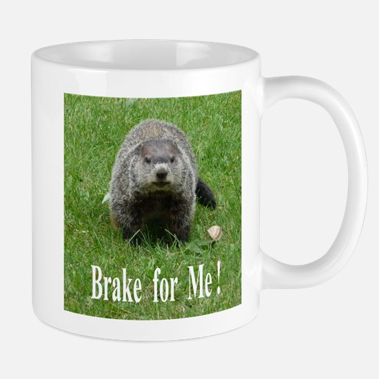 Groundhog Road Kill Mug