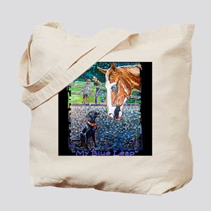 MY Blue LEAP Tote Bag