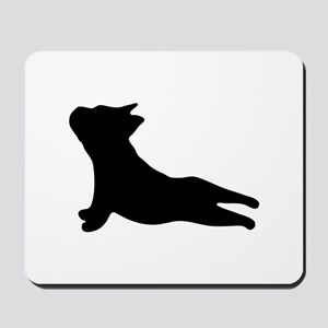 French Bulldog Yoga Mousepad