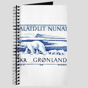 1976 Greenland Polar Bears Postage Stamp Journal