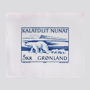 1976 Greenland Polar Bears Postage Stamp Stadium