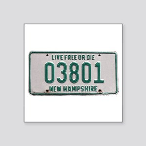 Portsmouth, NH Rectangle Sticker