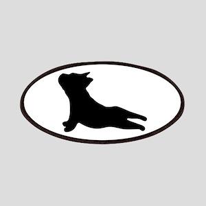 French Bulldog Yoga Patch