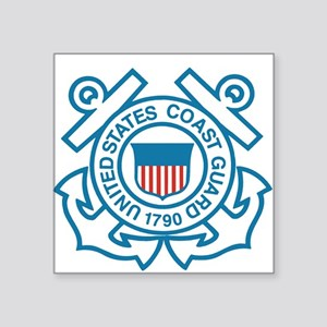 Coast Guard Rectangle Sticker