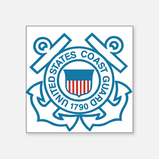 Coast Guard Rectangle Sticker