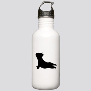 French Bulldog Yoga Stainless Water Bottle 1.0L