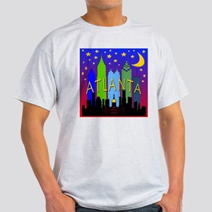 Atlanta Skyline nightlife Light T-Shirt