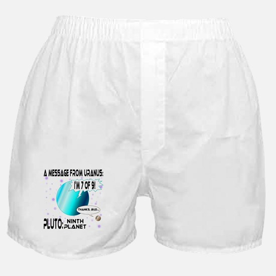 Message from Uranus Boxer Shorts