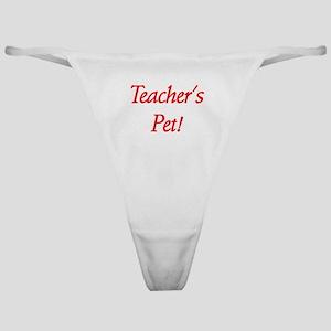 Teacher's Pet! Classic Thong