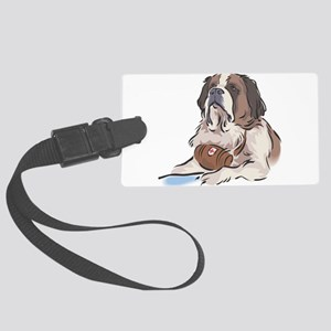 Saint-Bernard Large Luggage Tag