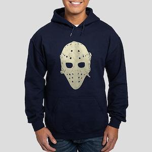 Vintage Hockey Goalie Mask (dark) Hoodie (dark)