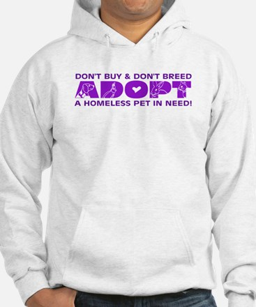Cute Homeless rabbits Hoodie