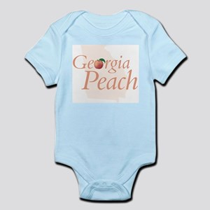 Georgia Peach State Infant Creeper