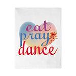 Eat Pray Dance Twin Duvet
