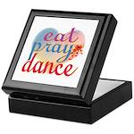 Eat Pray Dance Keepsake Box