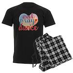 Eat Pray Dance Men's Dark Pajamas