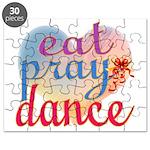 Eat Pray Dance Puzzle