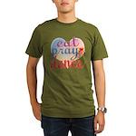 Eat Pray Dance Organic Men's T-Shirt (dark)