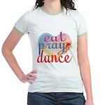 Eat Pray Dance Jr. Ringer T-Shirt