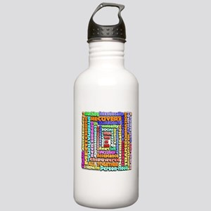 Words of Recovery Stainless Water Bottle 1.0L