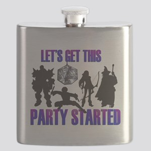 Party Started Flask