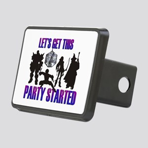 Party Started Rectangular Hitch Cover